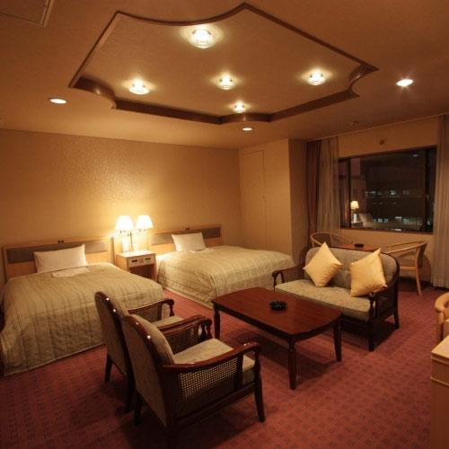 ホテルパールシティ札幌の客室の写真