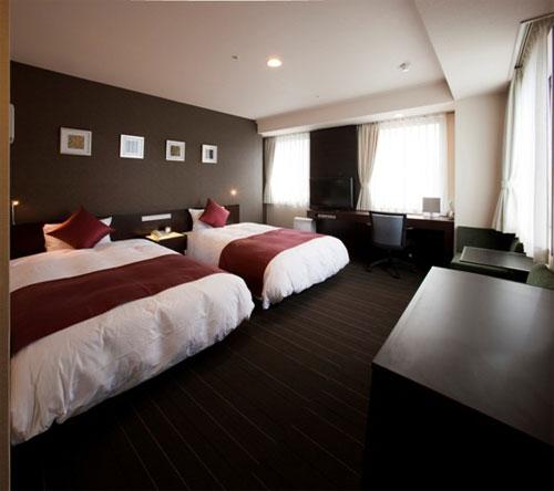 尾道国際ホテルの客室の写真
