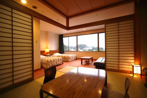 ホテルフラッグス九十九島の客室の写真