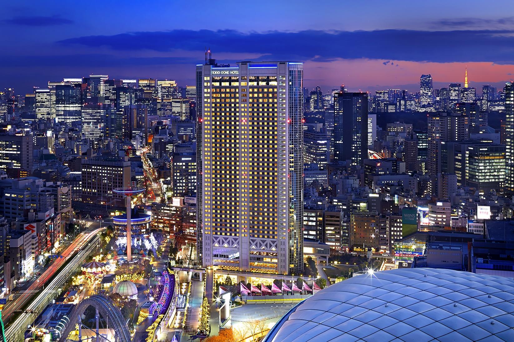東京ドームの世界らん展に行くのにおすすめのホテル