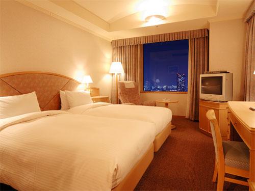銀座クレストン(旧東京新阪急ホテル)の客室の写真