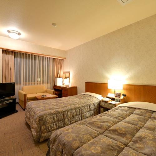 八戸パークホテルの客室の写真