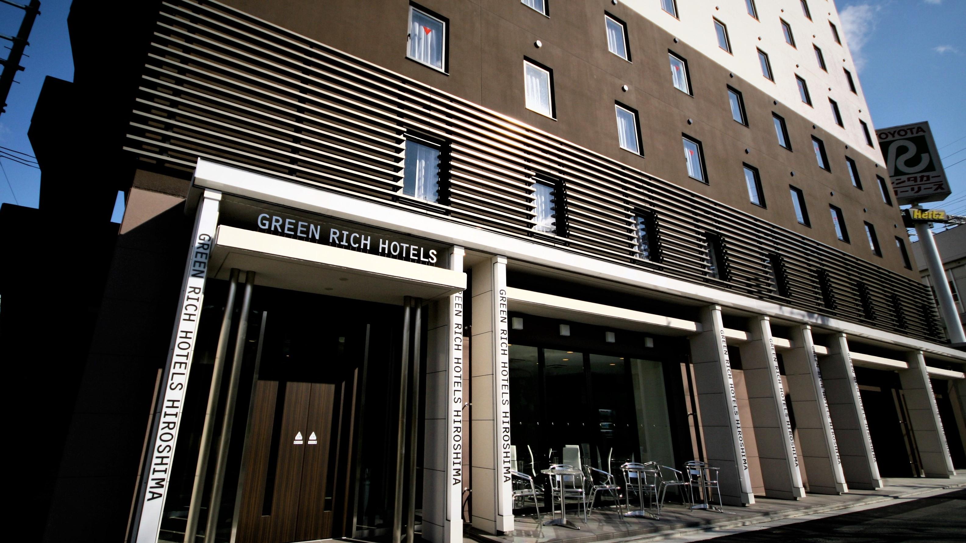 グリーンリッチホテル広島新幹線口 外観写真