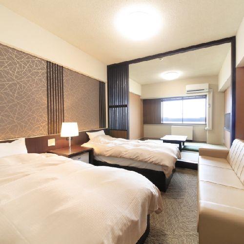 ホテルアルペンブリックの客室の写真