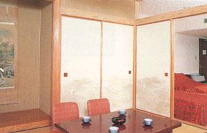 客室例:和洋室
