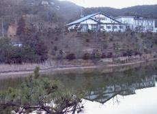 湖畔の宿 玉仙の外観