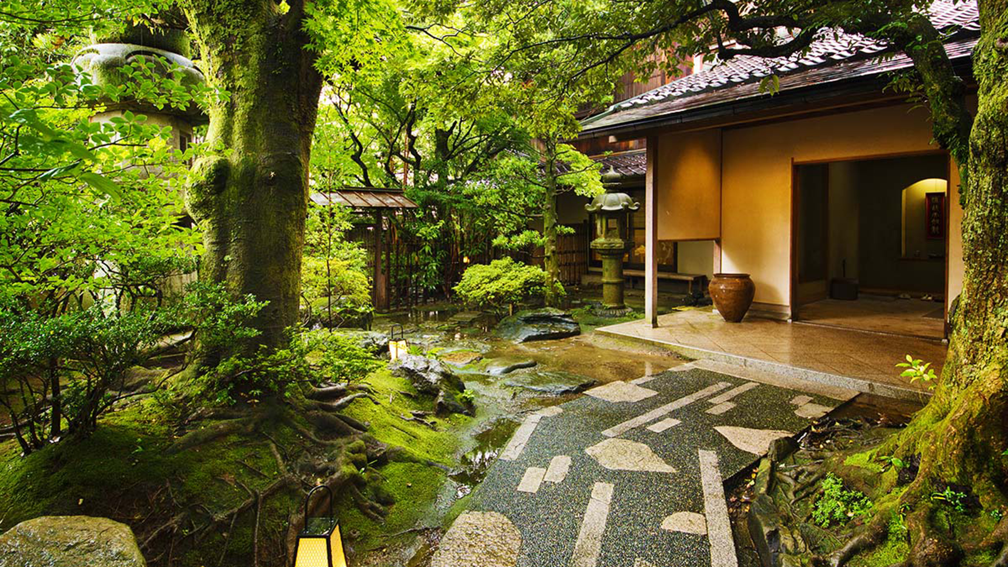 山中温泉 日本が香る宿 胡蝶 外観写真
