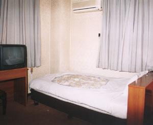 グリーンビジネスホテルの客室の写真