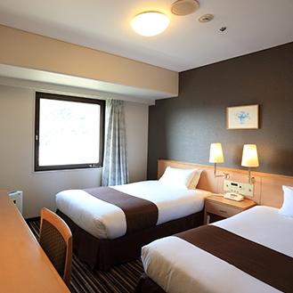 スマイルホテル徳島の客室の写真