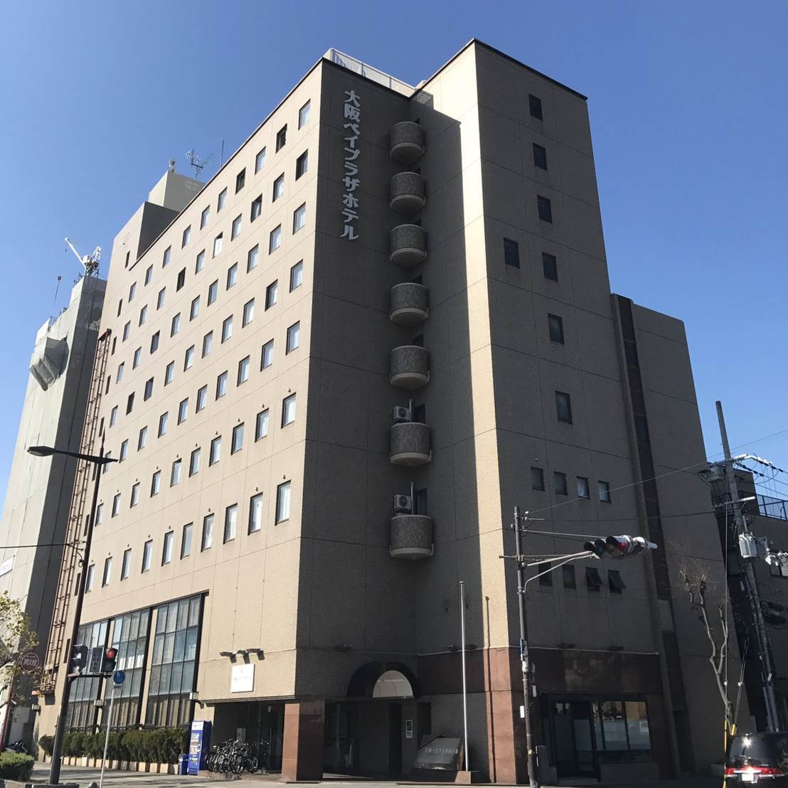 大阪ベイプラザホテル 外観写真