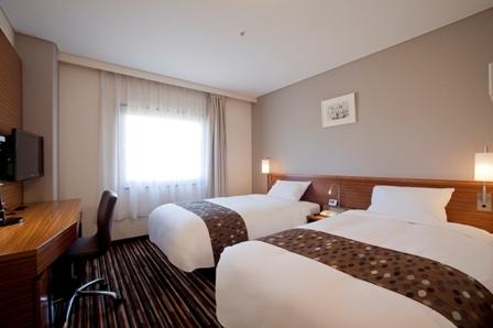 鹿児島東急REIホテルの客室の写真