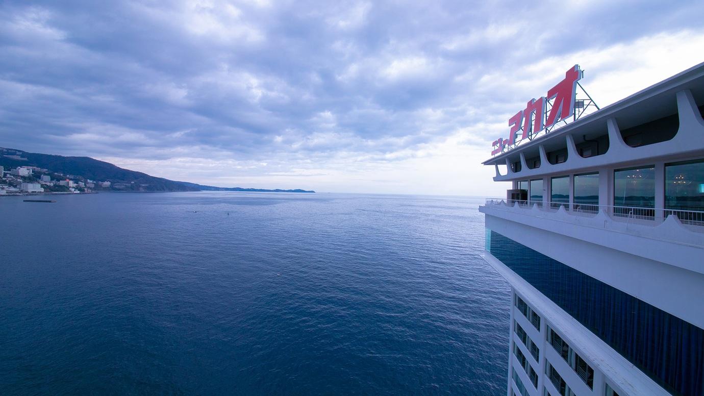3月の卒業旅行におすすめな、海が見えてコスパ抜群の熱海温泉の宿はないですか?