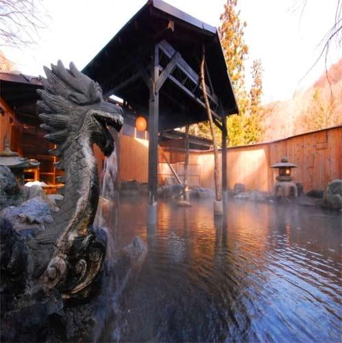 源泉掛流しの湯めぐりテーマパーク 龍洞 画像