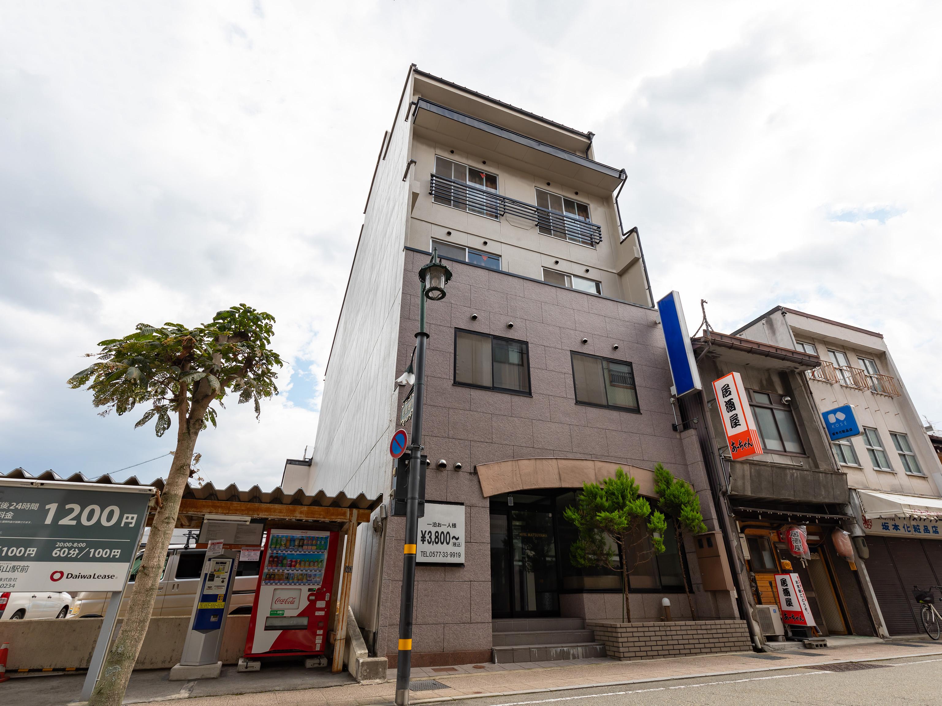 観光ビジネスホテル松山...