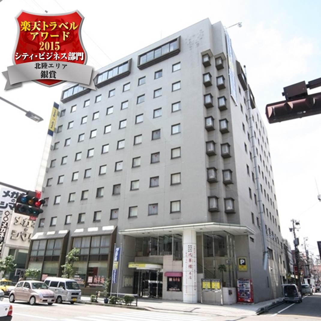 金沢駅近くで朝食付きのおすすめホテル
