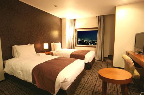 ホテルキャッスル山形の客室の写真