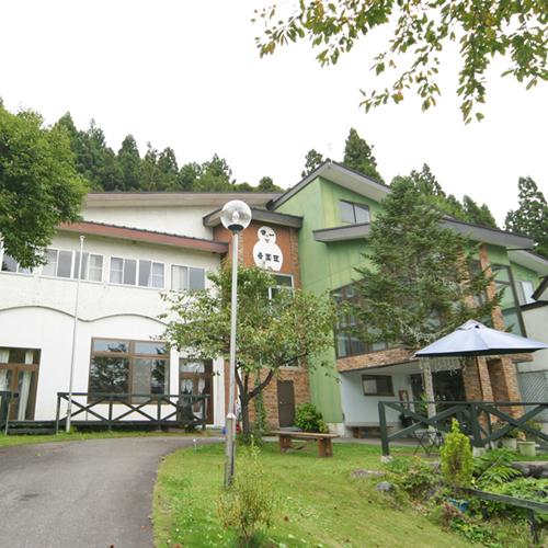 岳園荘の外観