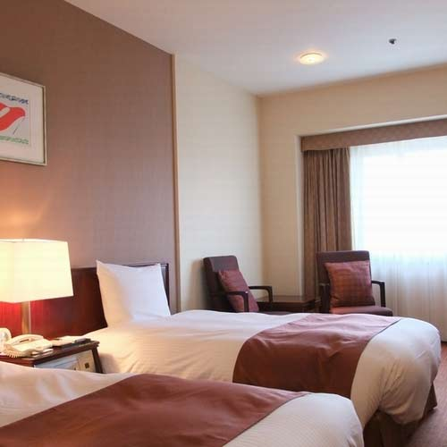 福山ニューキャッスルホテルの客室の写真