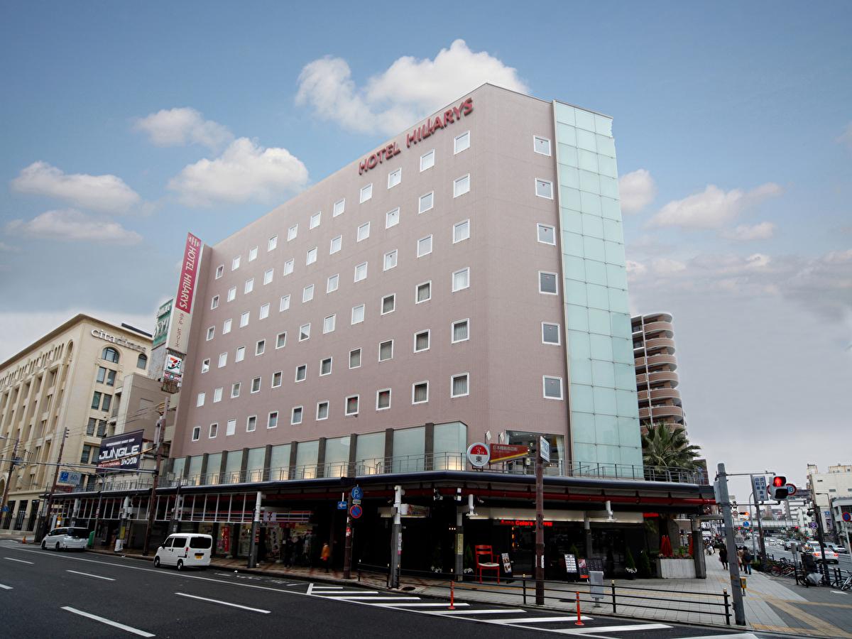 ペット連れで大阪市内中心部での宿泊に便利な駐車場付きホテル