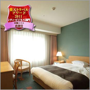ホテルフジタ福井の客室の写真