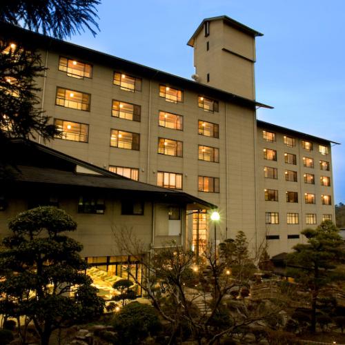 岡山津山の近くにある温泉宿