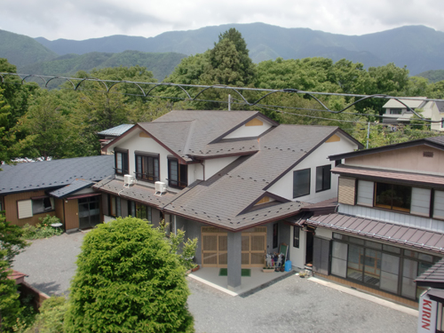 旅館丸富荘の外観