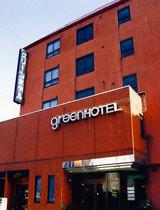 グリーンホテル新庄の外観