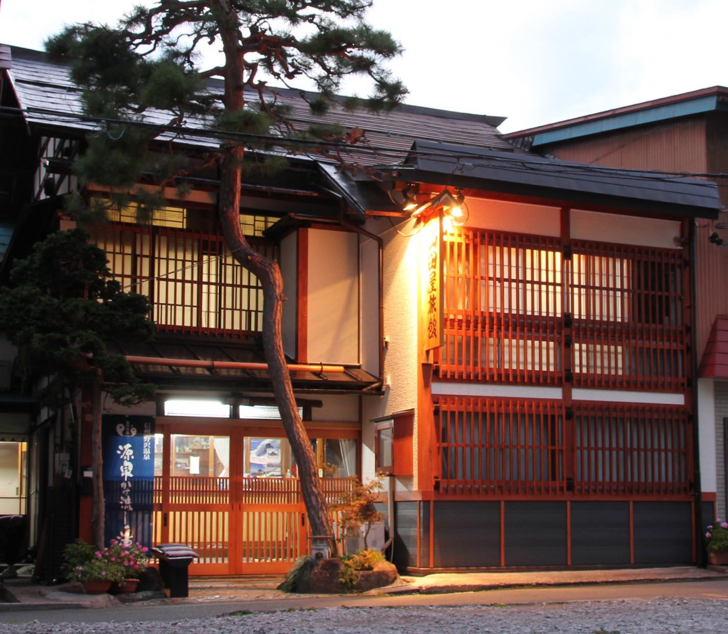 野沢温泉で駐車場が完備されている温泉宿は?