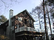 Lamps Lodgeの外観