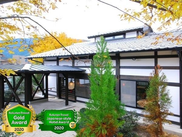 下呂温泉の雪景色を離れで楽しむ