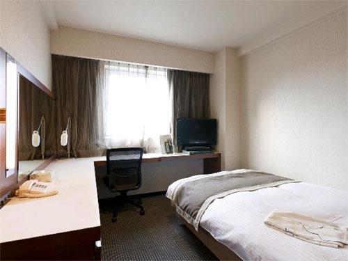 クサツエストピアホテルの客室の写真