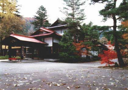 翠清閣 笹屋本館の外観