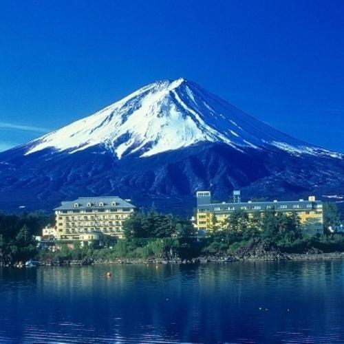 部屋の窓から富士山が見える宿またはホテル