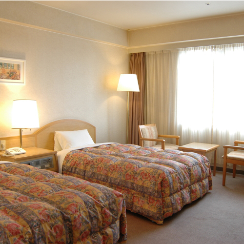 ホテルグリーンパーク鈴鹿の客室の写真