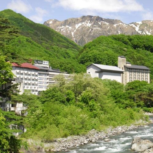 源泉湯の宿 松乃井(農協観光提供)