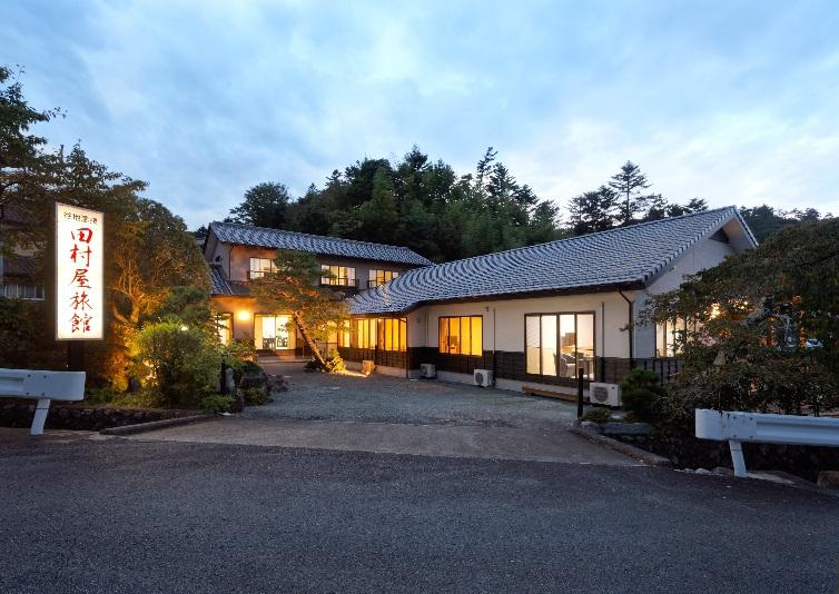 谷地の湯 田村屋旅館<福島県>の外観