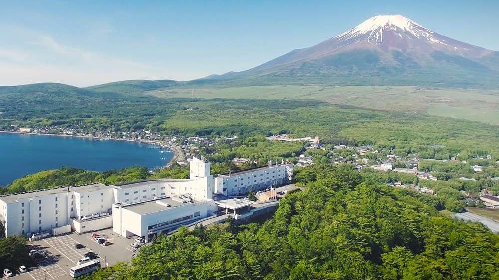 富士山がきれいに見える温泉宿