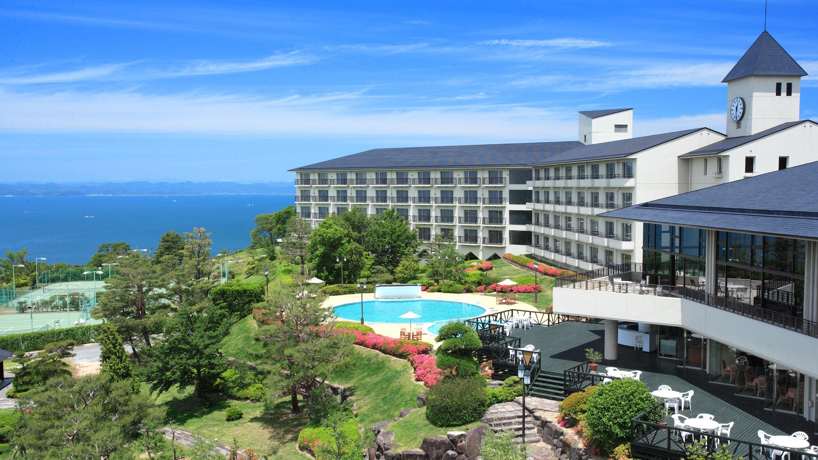 【インスタ映え】小豆島のオリーブ公園で女子旅4人におすすめのホテル