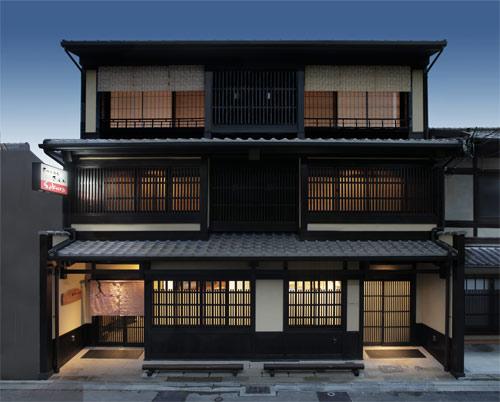 京町家旅館さくらの外観