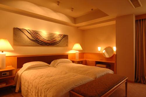 芝パークホテルの客室の写真