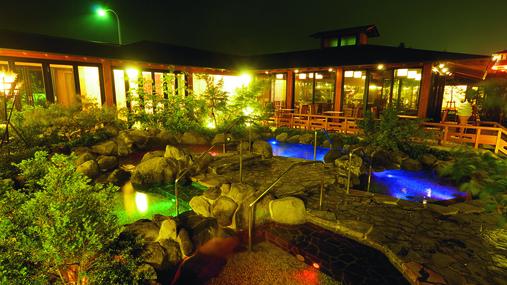 友人とディズニーハロウィンに行くので近くの温泉宿が知りたい。