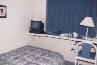 三原シティホテルの客室の写真
