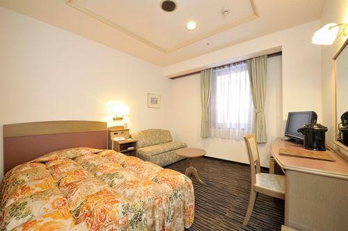 札幌すみれホテルの客室の写真