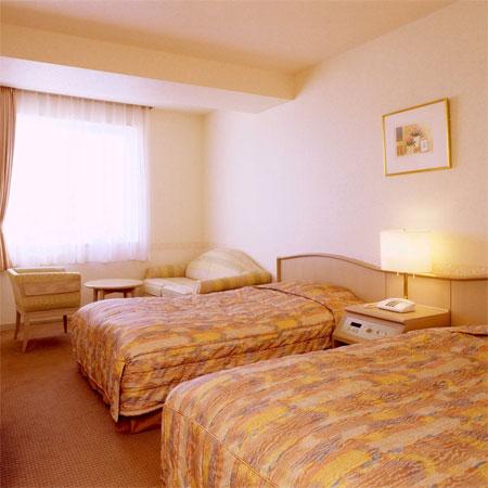 紋別セントラルホテルの客室の写真