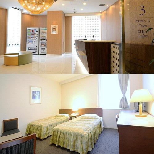 銀座国際ホテルの客室の写真