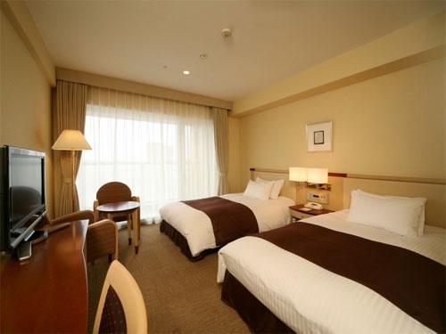十勝ガーデンズホテルの客室の写真