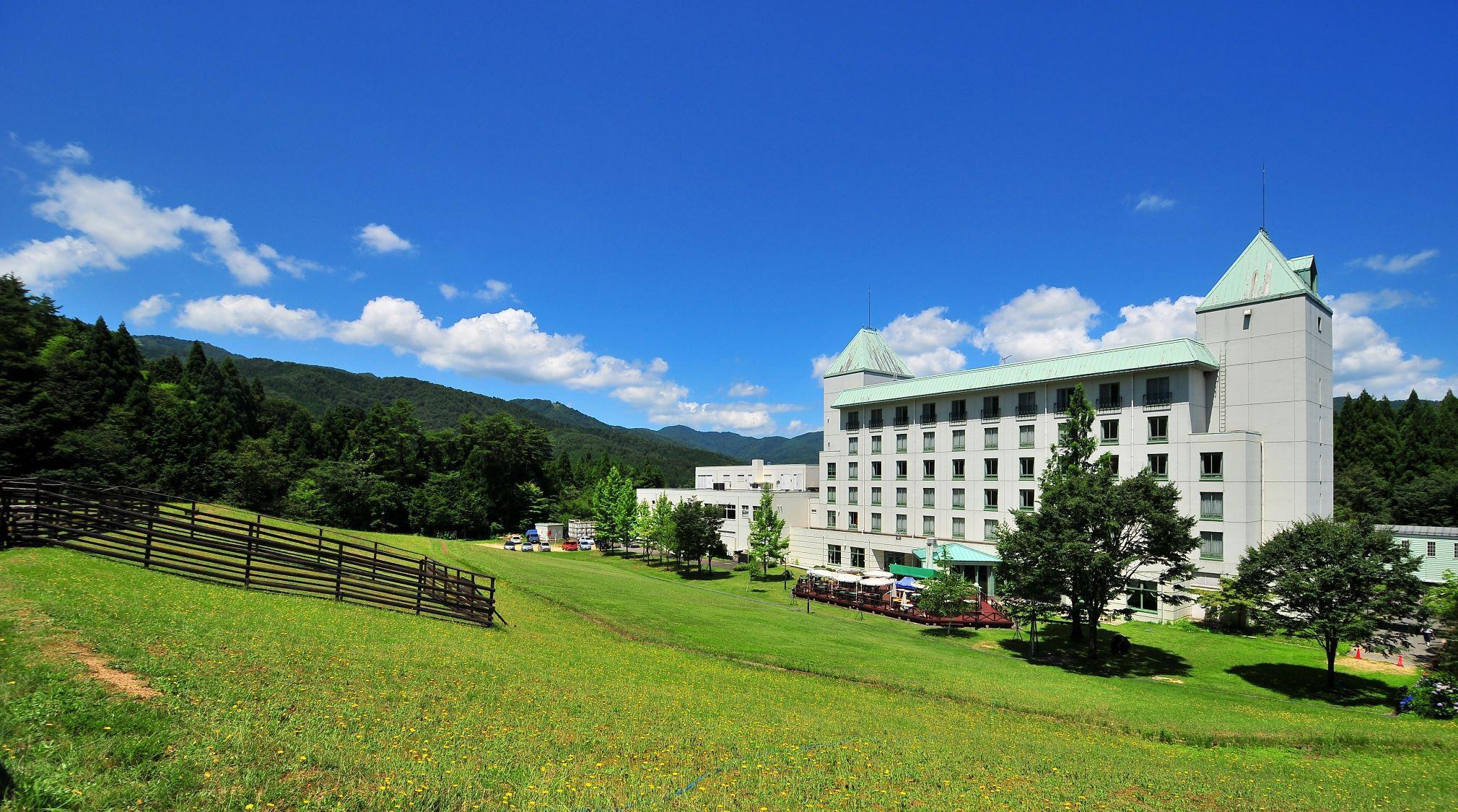 神鍋温泉 自然に癒される高原ホテル ブルーリッジホテル その1