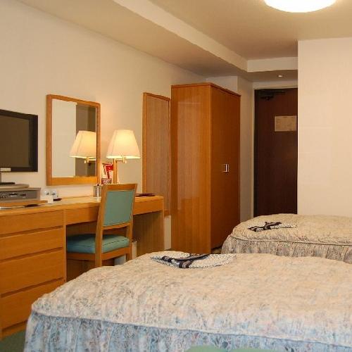 ホテルたてしなの客室の写真