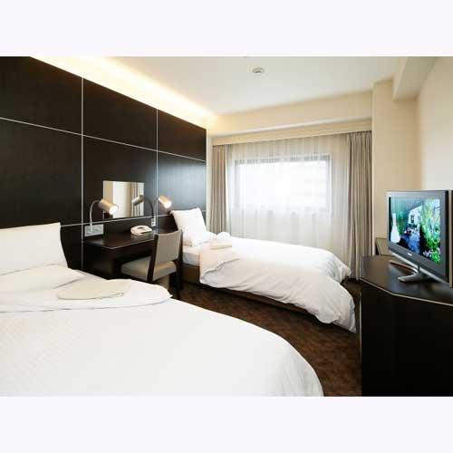 仙台国際ホテルの客室の写真