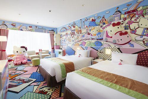 京王プラザホテルの室内